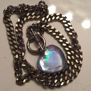 Jewelry - 💙Blue Heart Necklace